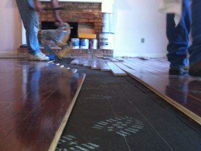 Hardwood Floor Intalation (10)
