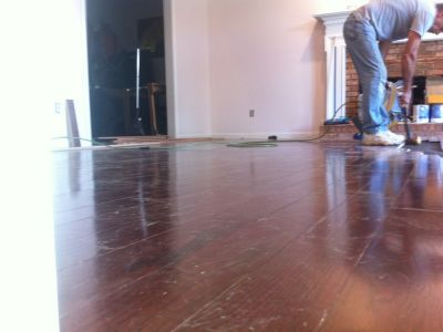Hardwood Floor Intalation (11)