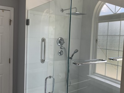 Glass Shower Installed Mountain Brook Al