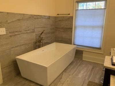 Modern Bathroom Constructed Birmingham Al