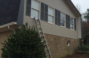 Exterior painting and repair in Bluff Park, Hoover, Al