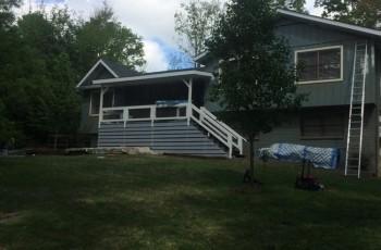 House exterior painted, deck built in Birmingham, Al