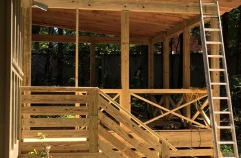 Deck for our architect