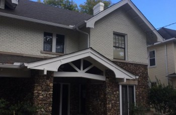 Exterior painted, new roof installed in Birmingham Al