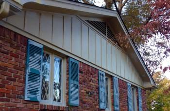 Exterior house repair & windows glazing in Vestavia Hills, Al